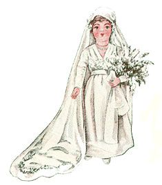 Betty Bonnet's Christmas - Bride Doll
