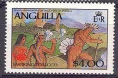 Stamp: Indians (Anguilla) (Discovery of America, 500th Anniversary (in 1992)) Mi:AI 728,Sn:AI 705