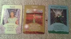 Today's Intuitive Reading is from Doreen Virtue's Messages from your Angels Oracle Cards.  April 5 2016 The cards revealed:  #1 Daniel: I am the Angel of Marriage and I am assisting you right now. #2 Crystal: Have faith and hope because there is something new on the horizon that you cant yet see. #3 Archangel Raphael- I am helping you heal physical challenges in yourself and others. You are a healer like me. #DailyOracleReadings #CrystallinEnergetics #AngelOracle @CCTJenn