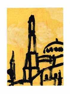 A bright yellow illustration for you! collection, soon-to-be published zine by Volcano Cries, a small publishing house in Thailand. Far, Hagia Sophia, Istanbul Turkey, Bright Yellow, Volcano, Zine, Thailand, Journey, Photo And Video