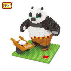 LOZ Cartoon Figure Panda Building Block Intelligence Toy for Kid - COLORMIX