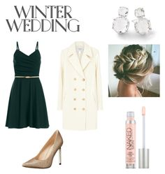 """""""💙❄️💙❄️"""" by leigh-lite ❤ liked on Polyvore featuring Frame, Nine West, Ippolita and Urban Decay"""