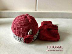 Tutorial: Gorro de bebé primera puesta (dos agujas) | Aprender manualidades es facilisimo.com