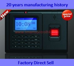 Fingerprint time attendance with access control......... For more go http://www.delaneybiometrics.com/  #biometrics #biometric #fingerprint #scanner #fingerprint #reader #iris #face #recognition #vein #sdk #finger #print #palm #secure #vein #id #sdk #access #control #clock #time #attendance #neurotechnology #futronics #secugen #m2sys #zktech #anviz