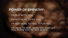 Dr. Brené Brown #empathy