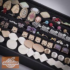 489feb9cb Dale un estilo lleno de glamour a tu look, con estos anillos en murano  graduables.