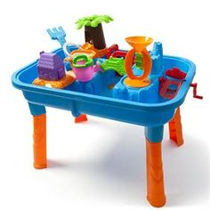 Sand and Water play table from Kmart