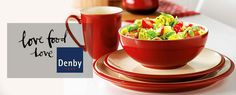 #Denby Cook and Dine Cherry view full range by clicking on link #homewares #kitchen