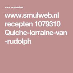 www.smulweb.nl recepten 1079310 Quiche-lorraine-van-rudolph