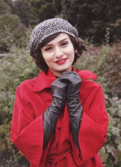 woman's beret / french beret / tam hat / by BonniesCinematheque