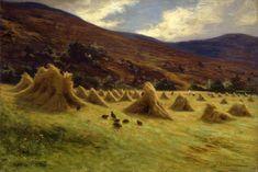 Harvesting, Forest of Birse, Aberdeenshire (c. 1900) - Joseph Farquharson