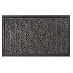 Welcome everyone who enters your home with our lovely leaf pattern Doormat.