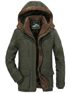 Solid wummer Uomo Inverno Cappotto wollmantel inverno giacca in stile Montgomery