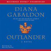 OUTLANDER cover - audiobook