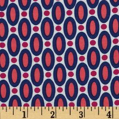 Joel Dewberry Flora Rayon Abacus Orchid from @fabricdotcom  Designed by Joel Dewberry for Free Spirit, this printed rayon challis fabric has a beautiful fluid drape and soft hand. It is perfect for creating shirts, blouses, gathered skirts and flowing dresses with a lining. Colors include poppy red, navy, magenta and cream.