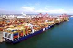 Through its Clean Air Action Plan, the Port of Long Beach in California has managed to greatly reduce local air pollution levels, according to the most recent annual Emissions Inventory Long Beach Port, Long Beach California, Event Logistics, Obama Lies, Parcel Shipping, Air Pollution, Supply Chain, West Coast, Sailing