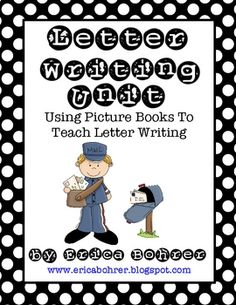 This download is for an extensive 70 page letter writing unit.  Included in this packet:Letter Writing Bibliography4 File Folder Word Walls3 ...