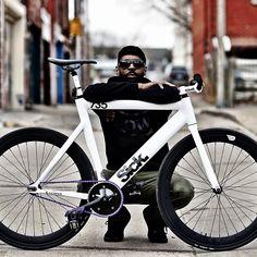 Leader 735 track bike. Sick.