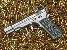 CZ-75 Stainless Custom by Stubb Find our speedloader now!  http://www.amazon.com/shops/raeind