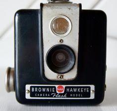 Kodak Brownie Hawkeye.