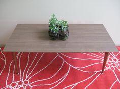 Mid Century Modern Vintage Coffee Table