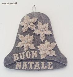Campana di Natale by giuseppina ceraso crocettando https://crocettando.wordpress.com/2015/09/25/secondo-post-dedicato-ai-lavori-per-natale-la-campana/