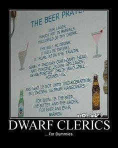 Dwarf Clerics