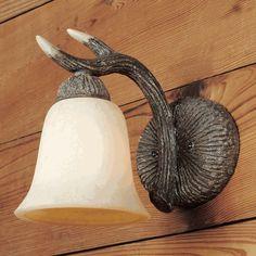 Deer Antler Lamps: Antler Wall Sconce|Black Forest Decor $99.95