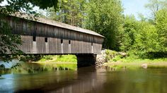 One of Maine's oldest towns, Fryeburg is ripe with historic sites such as Hemlock Bridge, built in 1857 over an old channel of the Saco River -- whose gentle current is ideal for kayaking, swimming and fishing.