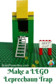 Make a LEGO Leprecha