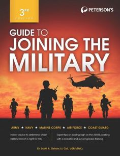 """""""Explains how individuals can tell whether joining the military is a good idea, describes opportunities in the five branches of the American military, provides tips for talking with recruiters, describes basic training, and includes an overview of the Armed Services Vocational Aptitude Battery (ASVAB)."""""""