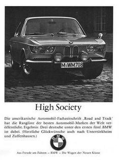 BMW 6er (1966) 2000 CS Coupé Typ 120 High Society