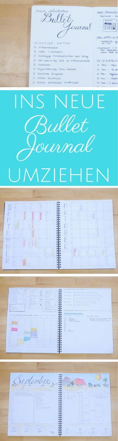 mein Bullet Journal set-up: In ein neues Bullet Journal umziehen - mit Leichtigkeit den richtigen Planer erstellen #perksofbeingastudent