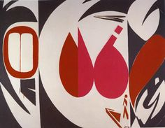lee krasner- could be a cool triptych cut paper/negative + positive space lesson