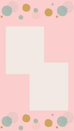 Flower Background Wallpaper, Cute Wallpaper Backgrounds, Framed Wallpaper, Cute Wallpapers, Iphone Wallpaper, Instagram Blog, Creative Instagram Stories, Instagram Story Ideas, Birthday Post Instagram