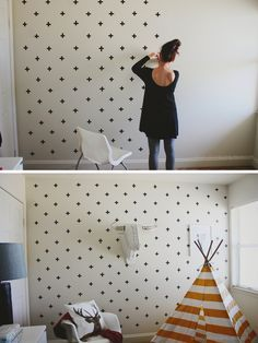 15 Renter-Friendly DIYs You Wont Want To Miss Apartment ideas Furniture Styles, Cool Furniture, Renters Wallpaper, Washi Tape Wall, Freundlich, Home Hacks, Decoration, Diy Home Decor, Home Improvement