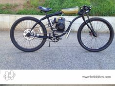 HelioBikes is now moving towards of your expectation by including electric motorized bikes and hybrid bike systems.