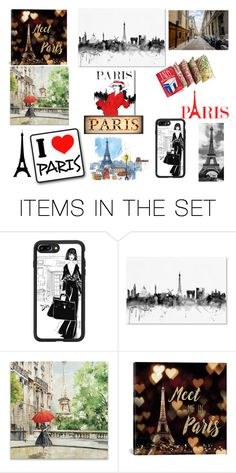 """Paris"" by queenharley666 ❤ liked on Polyvore featuring art"
