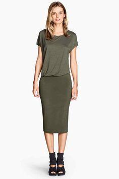 Vestido drapeado | H&M 24,99