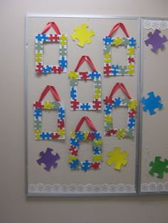 1000 Images About Autism Awareness Door And Bulletin