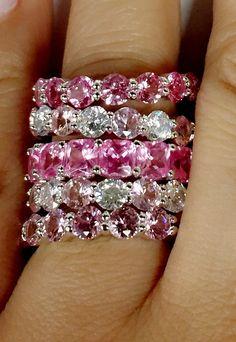 pink diamond band ring Pink Diamond Ring, Diamond Bands, Band Rings, Diamond Engagement Rings, Heart Ring, Diamonds, Bracelets, Jewelry, Jewlery