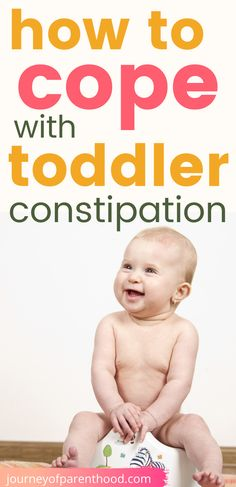 Hope to cope with toddler constipation. When potty training it's common for toddlers to struggle with being constipated. Here are tips to help relieve constipation pain and issues for young kids. #toddlerconstipation #pottytraining #constipation #toddler Potty Training Boys, Toilet Training, Training Tips, Step Parenting, Parenting Toddlers, Parenting Advice, Baby Health, Kids Health, Toddler Preschool