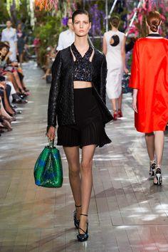 Défile Christian Dior Prêt-à-porter Printemps-été 2014