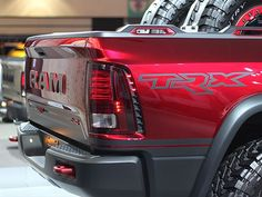 Pictures Don't Do It Justice: The Ram Rebel TRX Concept Is Super Badass