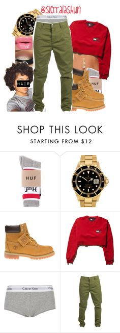 """eww... but here ya'll ghosties go"" by sierralashun on Polyvore featuring Rolex, Timberland, Topshop, Humör and Bling Jewelry"