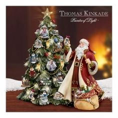 Thomas Kinkade Christmas 1/23/14