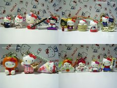GOTOCHI HELLO KITTY Sanrio Japan Limited Special SET! Lot of 15 NEW!