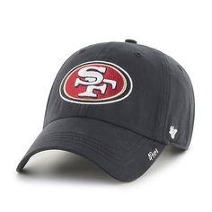 reputable site 41c27 49418 San Francisco 49ers Miata Clean Up Black 47 Brand Womens Hat
