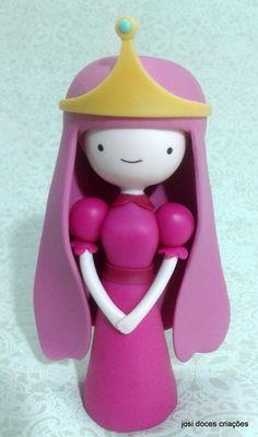 Princesa Jujuba Polymer Characters, Polymer Clay Figures, Polymer Clay Charms, Polymer Clay Art, Handmade Polymer Clay, Cool School Supplies, Cake Craft, Sugar Art, Cold Porcelain