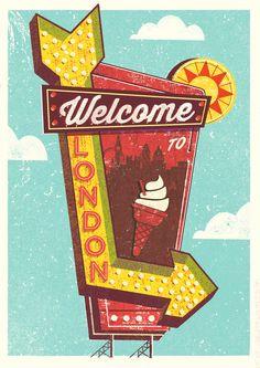 LONDON MAGAZINE by Telegramme
